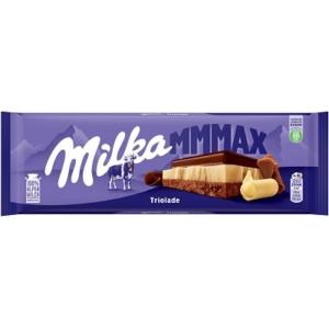 Milka Alpesi tejcsokoládé fehércsokoládéval és magas kakaótartalmú tejcsokoládéval 280G