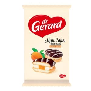 Dr. Gerald sárgabarack és tejszín ízű krémmel töltött tortácska 165G
