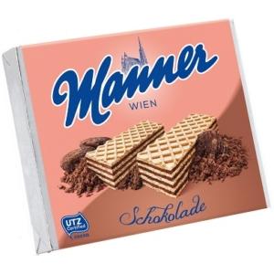 Manner csokikrémes töltött ostya 75G