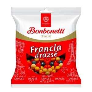 Francia Drazsé Kakaós ízesítéssel színes cukormázban 70G