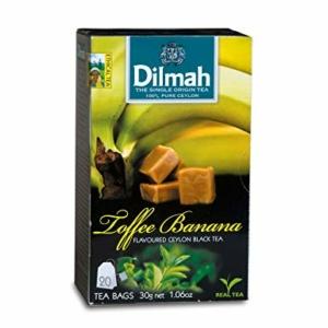 Dilmah Tea Banános Karamellás Zöld Tea 30G