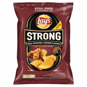 Lays 65-77G Strong Hot Chicken Wings Fűszeres Csirkeszárny