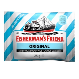 Fisherman's Friend Mentol-eukaliptusz ízű töltetlen keménycukorka 25G Cukormentes