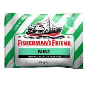 Fisherman's Friend 25G Cukorka Zöld Mint, Cukormentes