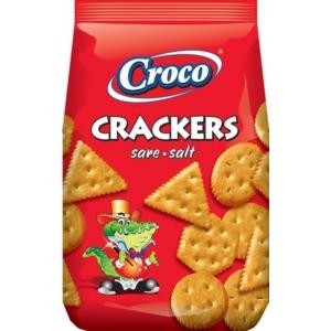 Croco Crackers 100G Sós