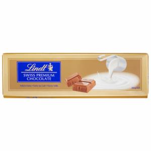 Lindt Alpenvollilch-Extra tejcsokoládé Aranytábla 300G