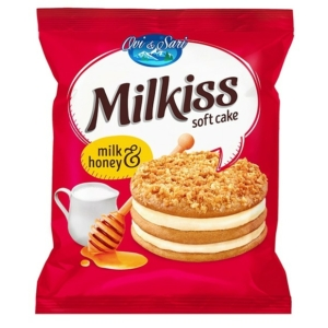 Milkiss Cake 50g Milk-Honey