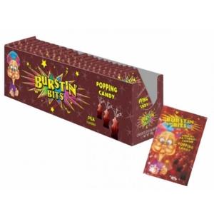 Burstin Bits Popping Candy Kóla Ízű Cukorka 9,5G