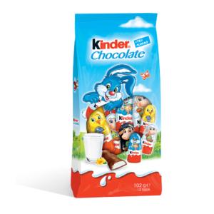 Kinder Chocolate 102G Húsvét Töltött Figurák