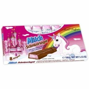Maitre T. 100G Milch Schokoriegel /92190/ Strawberry Unicorn