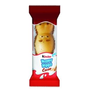 Kinder Happy Hippo Ropogós ostya tejes és tejes-kakaós krémmel töltve 20,7G