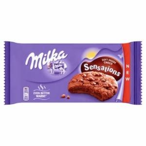 Milka Keksz 156G Cookies Sensations Soft Inside Choco