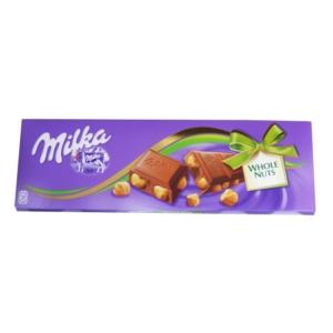 Milka 250g Whole Nuts