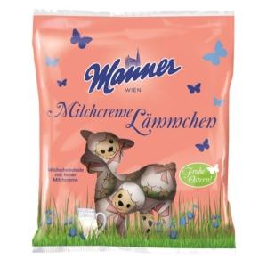Manner 75G Milchcreme Lammchene Bárány