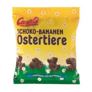 Casali Schoko-Bananen Ostertiere 125g