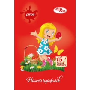 Tojásfesték Piros Por 2.3G (Microse)