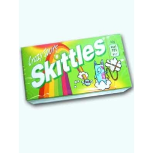 Skittles Drazse 38G Crazy Sours Zöld