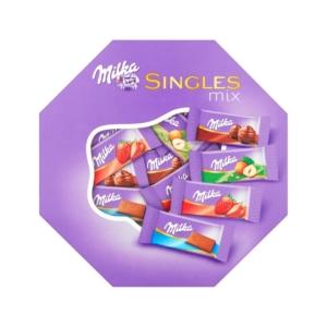 Milka Single Mix alpesi tejcsokoládé válogatás 138G