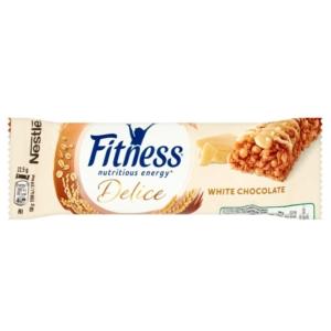 Nestlé Fitnees Delice fehér csokoládés gabonapehelyszelet 22,5 g