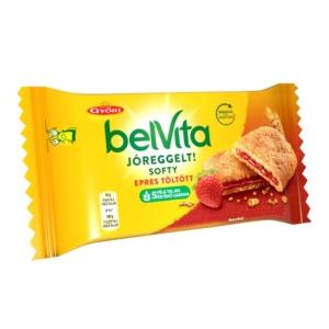 Győri Belvita Jóreggelt eper ízű töltelékkel töltött keksz 50 g