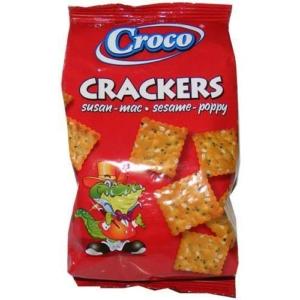 Croco Crackers 100G Szezámos-Sós-Mákos