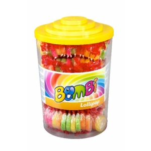 Bombi Lollipop 8G Gyümölcs Ízű