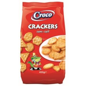 Croco Crackers 400G Sós