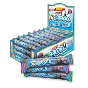 Choco Kókuszos Csemege 180G (Hazisweets) Több Ízben (Rumos-Puncs-Marcipán)