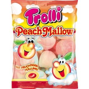 Trolli PeachMallow barack ízesítésű habcukor 150G