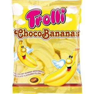 Trolli ChocoBananas banán ízesítésű habcukor 150G