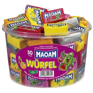 Maoam Würfel Hengeres 50Db-Os