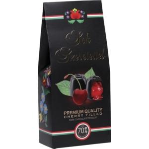 Sweetsystem Kalocsai  Sok Szeretettel Cherry 130G Étcsokis 70% Desszert Konyakmeggy