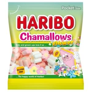 Haribo Chamallows Flowers gyümölcs ízű habcukor 100G