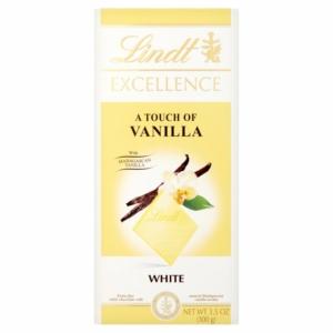 Lindt Excellence 100G White Vanilia LNEX1041