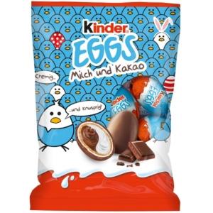 Kinder Eggs tejes és kakaós krémmel töltött csokitojások 80 g