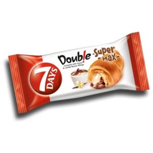 7 Days Croissant 110G Super-Max Double Kakaó-Vanília