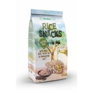 Rice Snacks 50G Mini Vadrizs Himalája só-Oliva olaj Gluténmentes