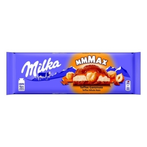 Milka 300G Toffee Wholenut