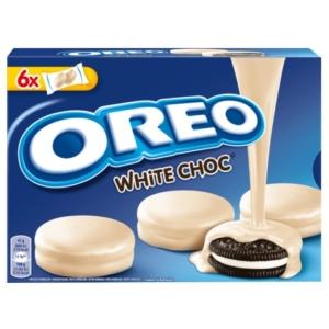 Oreo krémes fehércsokoládéba mártott keksz 246 g