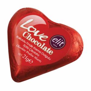 Elit Love Chocolate 21G Szívdesszert  /91005015/