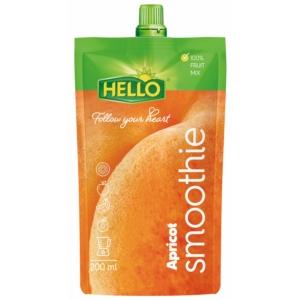 Hello 200Ml Smoothie Apricot