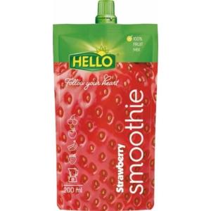Hello 200Ml Smoothie Strawberry