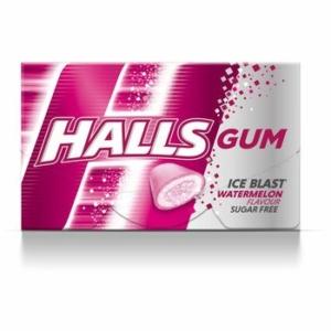 Halls 18G Gum Watermelon