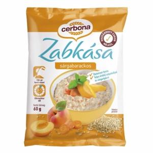 Cerbona Zabkása 60G Sárgabarackos
