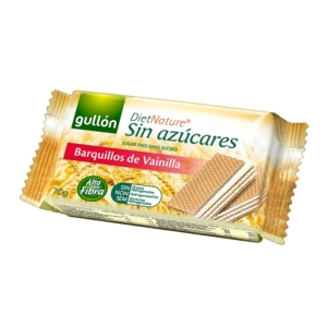 Gullon vanília ízesítésű töltött nápolyi édesítőszerrel 60-70G Diabetikus