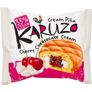 Karuzo 62G Pita Krémtúrós Cseresznyés Töltelékkel
