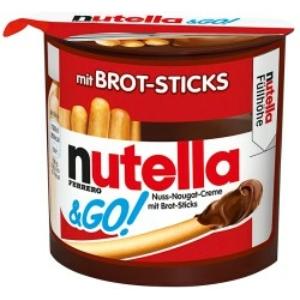 Nutella & Go Mogyorókrém + Pálcika 52G