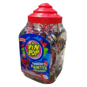 Aldor Pin Pop Tongue Painter Nyelvfestős Nyalóka