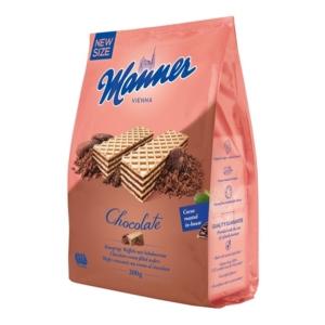 Manner Csokoládékrémmel töltött ropogós ostyaszeletek 5 rétegben 200G