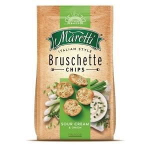 Maretti Bruschette 70G Hagymás-Tejfölös